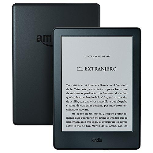 E-reader Kindle, pantalla táctil antirreflejos de 6'' (15,2 cm), Wi-Fi (Negro) - Indulta un arbol